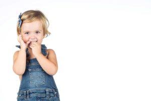Reportaje de fotos de estudio de niños
